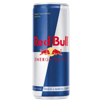 Red Bull Energy Drink Carbonated Drink with Caffeine and Arginine 250 ml