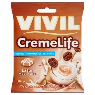 Vivil Creme Life Latte Macchiato Sugar-Free Coffee Flavourer with Sweeteners 40 g