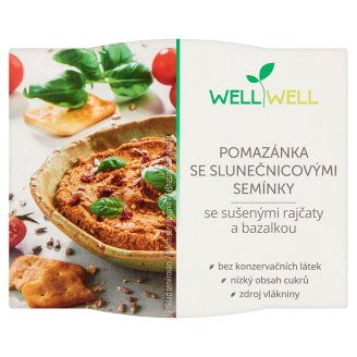 Well Well Vegan Sunflower Seed Paté with Tomato and Basil 115 g