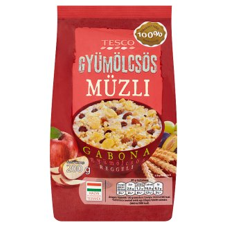 Tesco Fruit Muesli 200 g