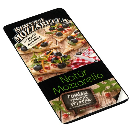 Szarvasi Sliced Unflavoured Pizza Mozzarella Cheese 100 g