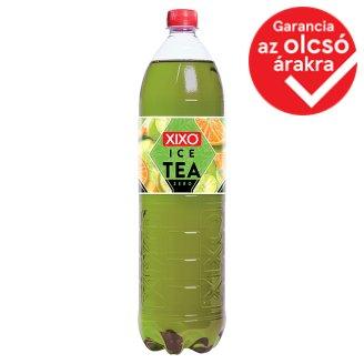 XIXO Ice Tea Zero citrusos ízű zöld tea édesítőszerekkel 1,5 l