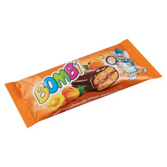 Bombi Cocoa Coated Gingerbread with Apricot Filling 45 g