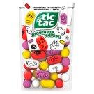 Tic Tac Emotions Edition citrom-vörösáfonya-kékáfonya-mangó-guava ízű cukordrazsé 18 g