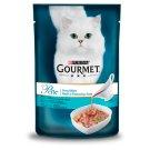 Gourmet Perle Gravy Delight állateledel macskáknak tonhallal, tenger gyümölcsei ízű szószban 85 g