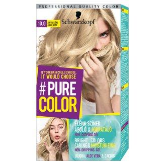 Schwarzkopf #Pure Color tartós hajfesték 10.0 Angyal szőke