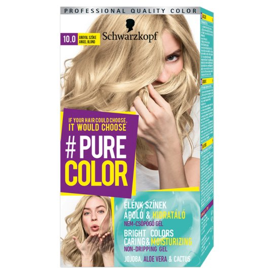 Schwarzkopf #Pure Color Permanent Hair Colorant 10.0 Angel Blond