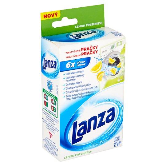 Lanza Lemon Freshness Washing Machine Cleaner Liquid 250 ml