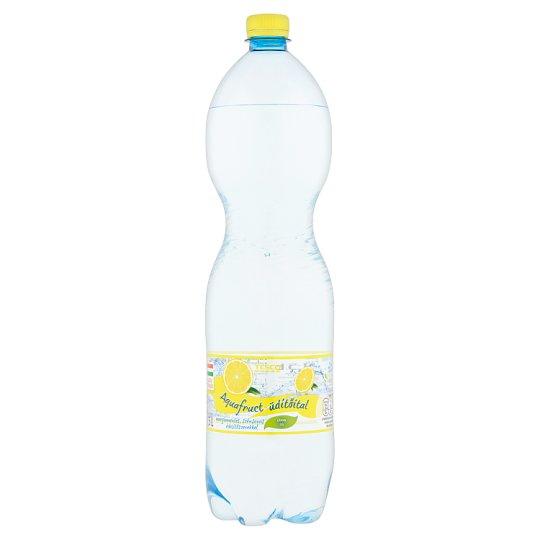 Tesco Aquafruct energiamentes citrom ízű szénsavas üdítőital édesítőszerekkel 1,5 l