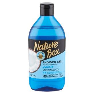 Nature Box Kókusz tusfürdő az ápolt bőrért 385 ml