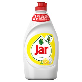 Jar Hand Washing Up Liquid Lemon 450ml