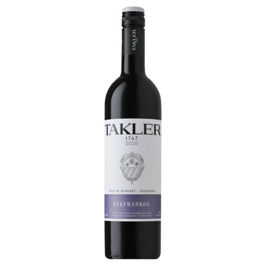 Takler Kékfrankos Dry Red Wine 12,5% 0,75 l