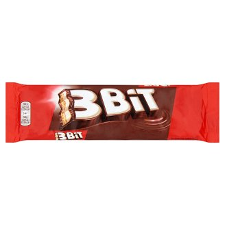 3Bit Milk Chocolate Bar with Biscuit and Cream Filling 46 g