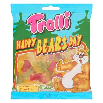 Trolli Happy Bears Day gumicukor 100 g