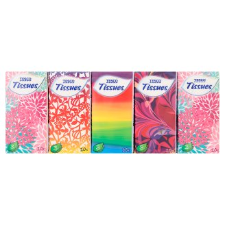 Tesco Handkerchief 3 Ply 10 x 10 pcs