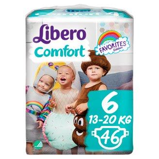 Libero Comfort 6 13-20 kg prémium pelenkanadrág 46 db