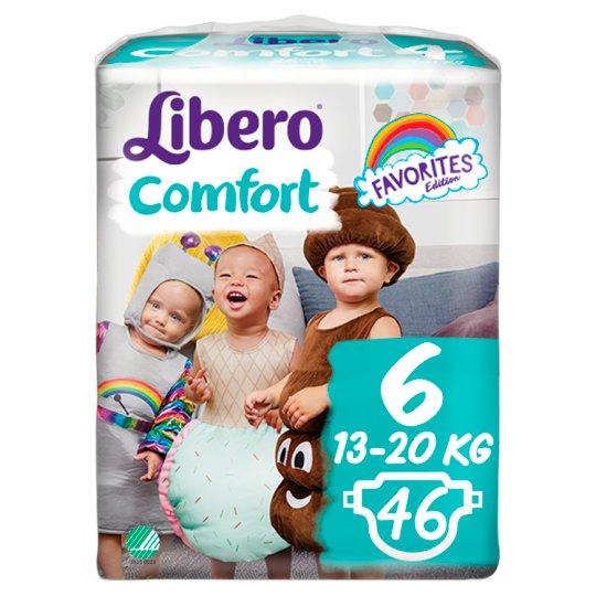 Libero Comfort 6 13-20 kg Premium Nappies 46 pcs