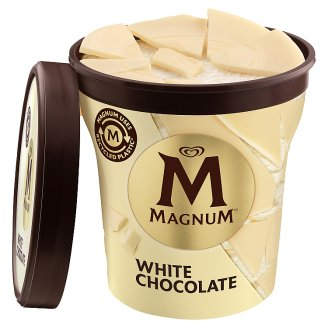 Magnum Fehér poharas jégkrém 440 ml