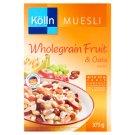 Kölln teljes kiőrlésű zabpehelyből készült müzli gyümölccsel 375 g