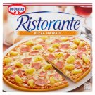 Dr. Oetker Ristorante Pizza Hawaii Quick-Frozen Pizza with Pineapple, Ham and Cheese 355 g