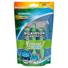 Wilkinson Sword Xtreme3 Duo Comfort Disposable Razor 6 pcs
