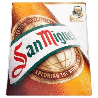 San Miguel Premium Lager Beer 5,4% 6 x 25 cl
