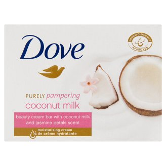 Dove Purely Pampering Beauty Cream Bar with Coconut Milk and Jasmine Petals Scent 100 g
