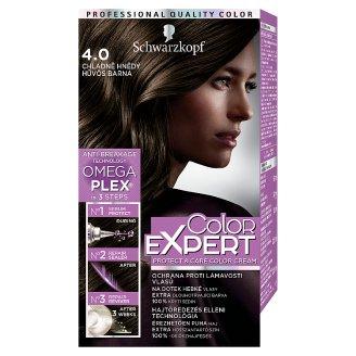 Schwarzkopf Color Expert tartós hajfesték 4.0 Hűvös barna