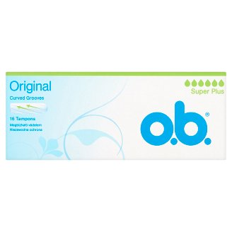 o.b. Original Super Plus tampon 16 db
