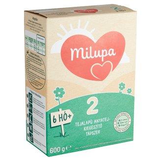 Milupa 2 tejalapú, anyatej-kiegészítő tápszer 6 hó+ 600 g