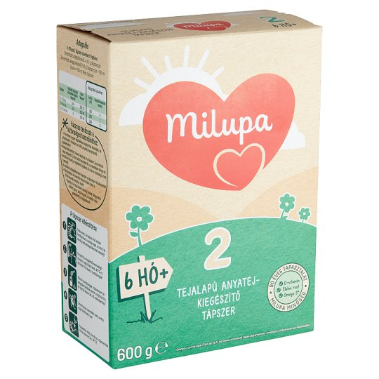 Milupa 2 Milk-Based Breast-Milk Supplement 6+ Months 600 g