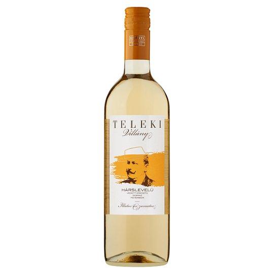 Csányi Pincészet Teleki Villányi Hárslevelű Dry White Wine 12,5% 75 cl