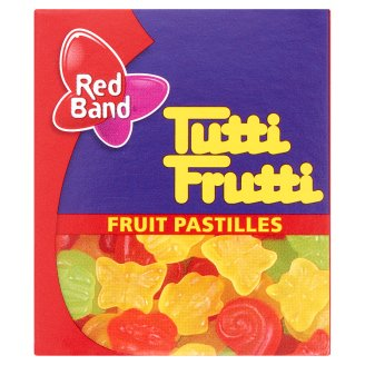 Red Band Tutti Frutti Fruit Pastilles 15 g