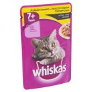 Whiskas Complete Pet Food for 7+ Years Cats with Chicken Meat in Sauce 100 g