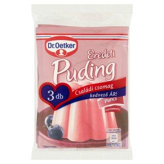 Dr. Oetker Eredeti Puding Punch Pudding Powder 3 x 40 g
