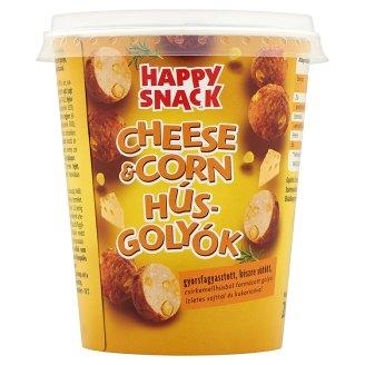 Happy Snack Cheese & Corn gyorsfagyasztott, készre sütött húsgolyók 200 g