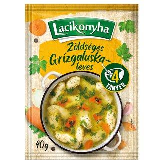 Lacikonyha zöldséges-grízgaluskaleves 40 g