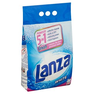 Lanza Vanish Ultra 2in1 Powder Detergent for White Clothes 45 Washes 3,375 kg