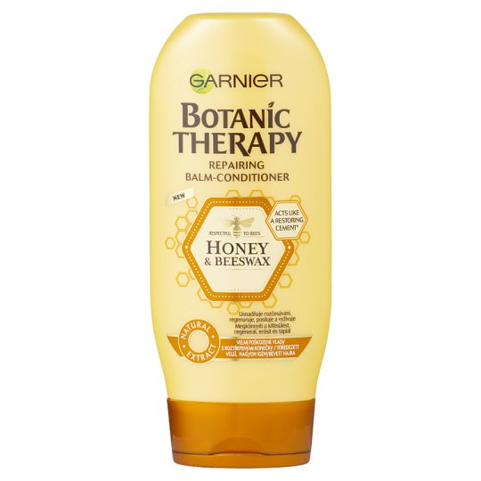 Garnier Botanic Therapy Honey & Propolis Balm-Conditioner for Damaged, Used Hair 200 ml