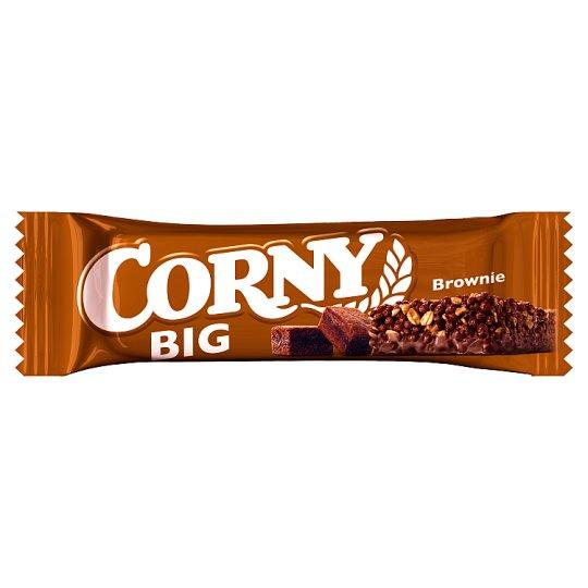 Corny Big Milk Chocolate Coated Muesli Bar with Brownie 50 g