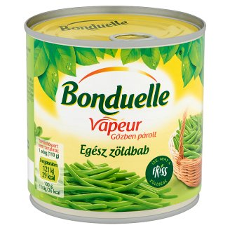 Bonduelle Vapeur gőzben párolt egész zöldbab 295 g