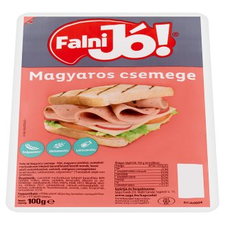 Falni Jó! Magyaros Csemege Hungarian Style Sliced Poultry Cold Cut 100 g