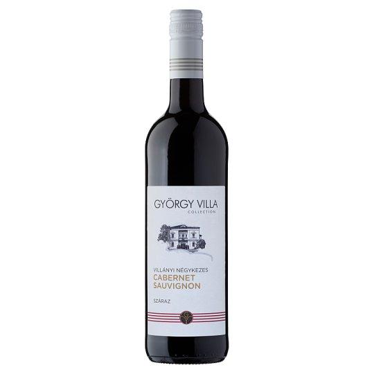 György Villa Négykezes Villányi Cabernet Sauvignon Dry Red Wine 750 ml