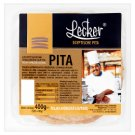 Lecker Pre-Baked Pita from Whole Wheat Flour 5 x 80 g