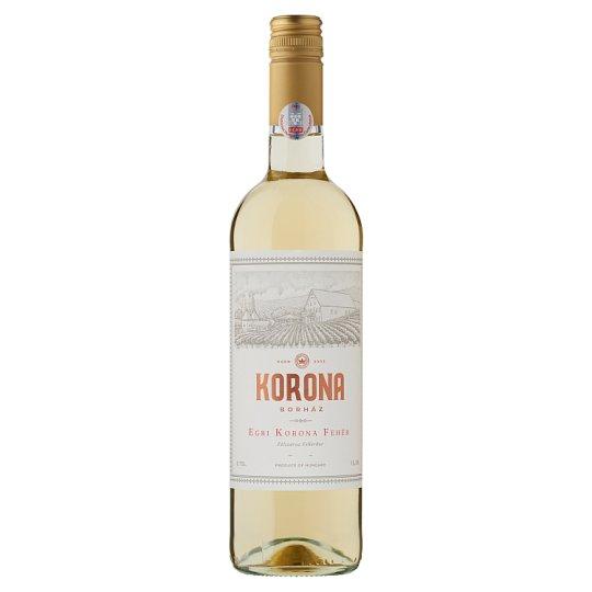 Egri Korona Borház Egri Korona Fehér Semi Dry Quality White Wine 13% 750 ml