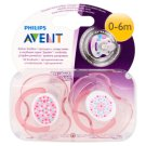 Philips Avent Orthodonthic Soother 0-6 Months 2 pcs