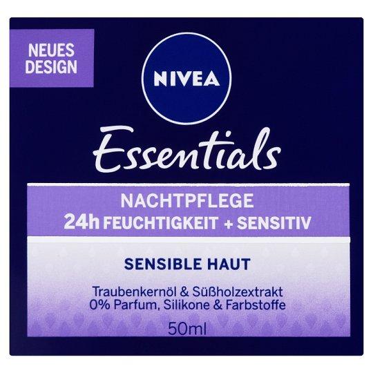 NIVEA Essentials Sensitive Night Face Cream 50 ml