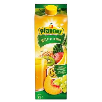 Pfanner Multivitamin Mixed Fruit Nectar 2 l