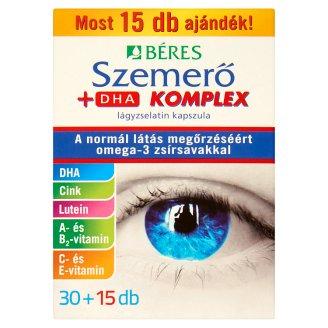 Béres Szemerő + DHA Komplex Soft Gel Capsule 45 pcs 34,65 g
