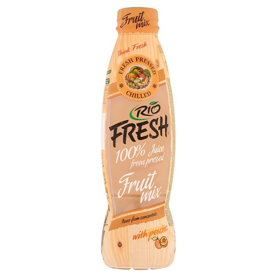RIO FRESH Fruit Mix 100% Several Fruits Juice with Fibres 750 ml